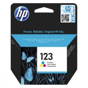 HP 123 Tri-color Original Ink (F6V16AE)