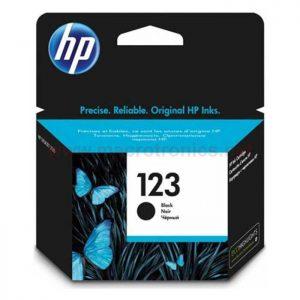 HP 123 Black Original Ink (F6V17AE)