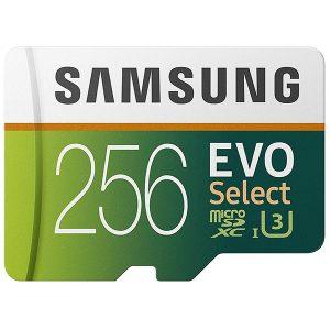 Samsung 256GB 100MB/s (U3) MicroSDXC EVO Select Memory Card with Adapter