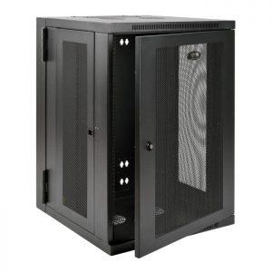 SmartRack 18U Wall-Mount Rack Enclosure Cabinet