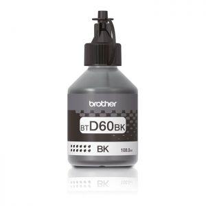 Brother BTD60BK High Yield Black Original Ink Bottle