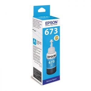 Epson T6732 Cyan Original Ink Bottle (C13T67324A) 70ml
