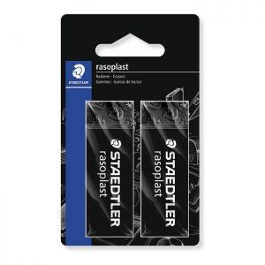 Staedtler Rasoplast (526B209BK2) Eraser – Black