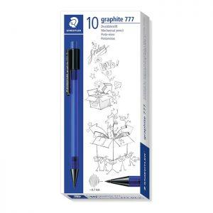 Staedtler 777 Mechanical Pencil Graphite Refill Diameter 0.7 mm, Blue 10 Pack
