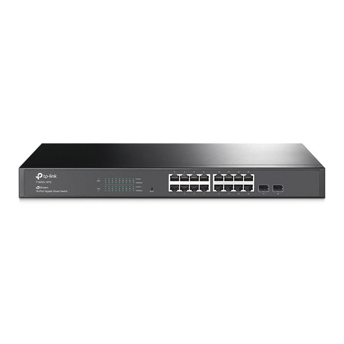 TP-Link T1600G-18TS JetStream16-Port Gigabit Smart Switch with 2 SFP Slots