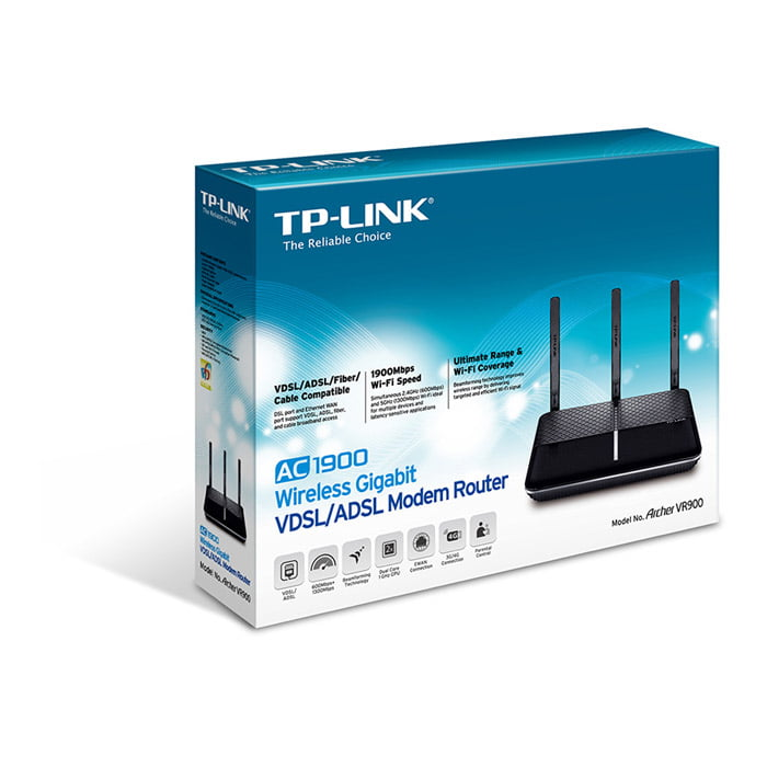 TP-Link Archer AC1900 Wireless Gigabit VDSL/ADSL Modem Router